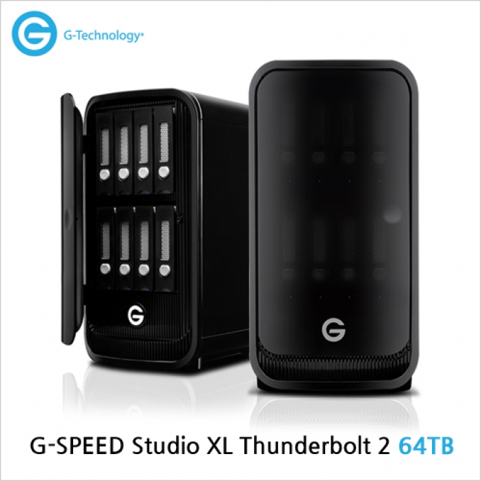 [G-Technology] G-SPEED Studio XL Thunderbolt 2 64TB[한정수량 특가이벤트중!]